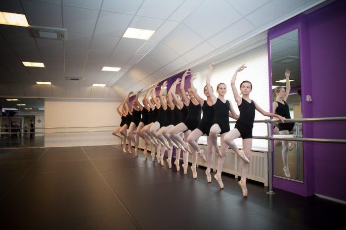 Op spitzen leren dansen voor kinderen vanaf 12 jaar